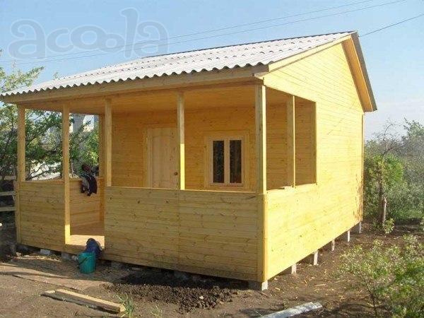 Каркасный дачный домик своими руками проекты